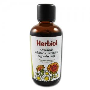 HERBIOL Oblakovo negovalno zeliščno vitaminsko olje