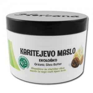 KARITEJEVO maslo (BIO, negovalno) - Butyrospermum parkii