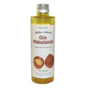 MAKADAMIJA, olje (BIO, hladno stiskano) - Macadamia ternifolia