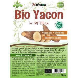 YACON - v prahu (BIO)