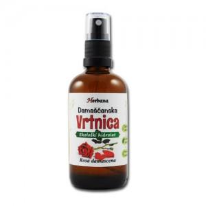 VRTNICA - damaščanska, bio-hidrolat (Rosa damascena)