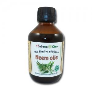 NEEM olje (BIO, hladno stiskano) - Azadirachta Indica