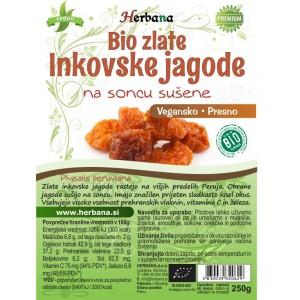 INKOVSKE jagode - suhe (Zlate, BIO)