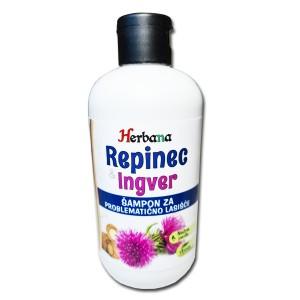 REPINEC & INGVER - Ekološki šampon za problematično lasišče