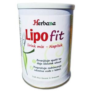 LIPOFIT napitek - Za lepše oblikovano telo