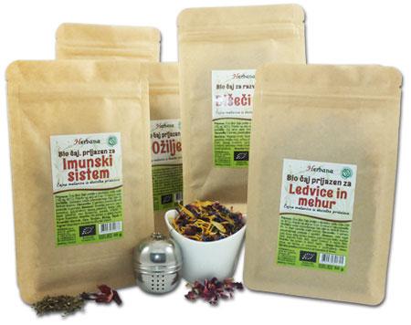 Domači in ekološki čaji